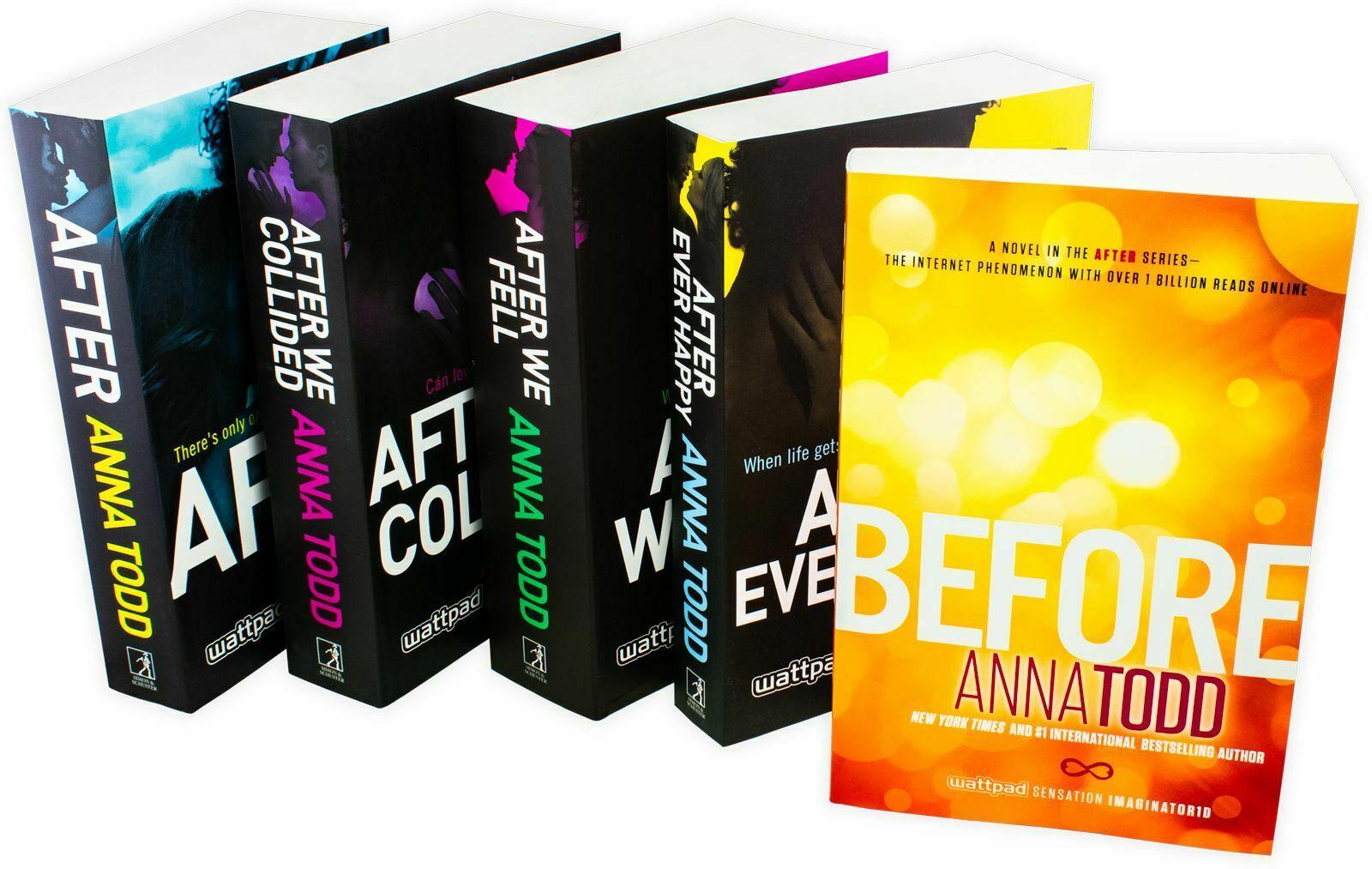 5 libri After di Anna Todd