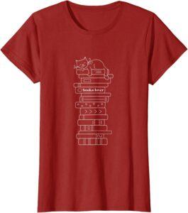 Maglietta da donna books lover